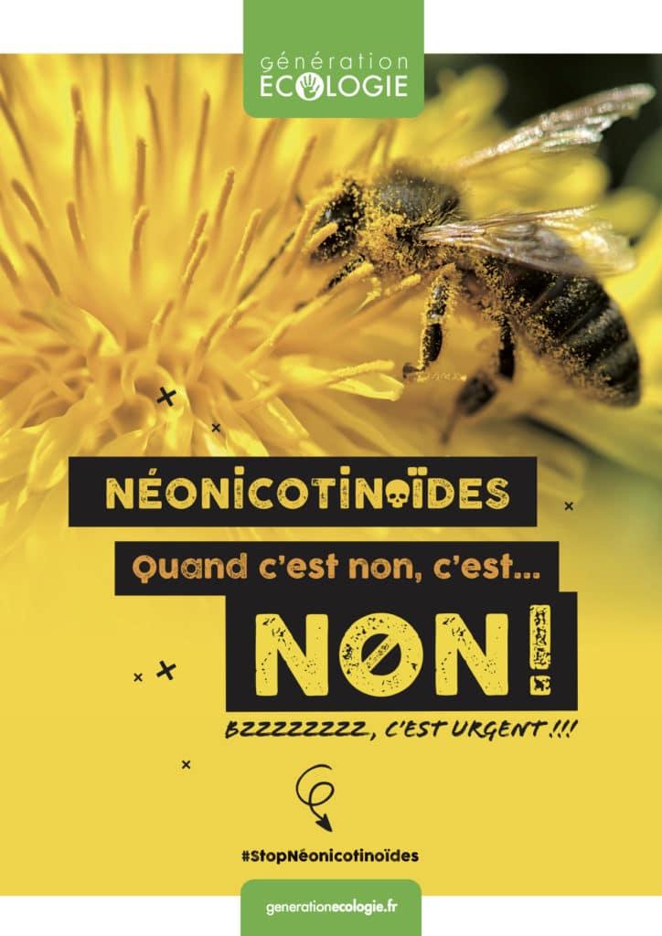 NEONICOTINOIDES QUAND C'EST NON, C'EST NON