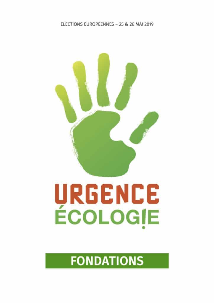 URGENCE ÉCOLOGIE LES FONDATIONS
