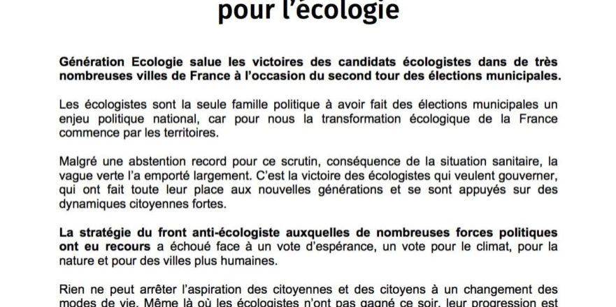 CP Victoire historique aux municipales